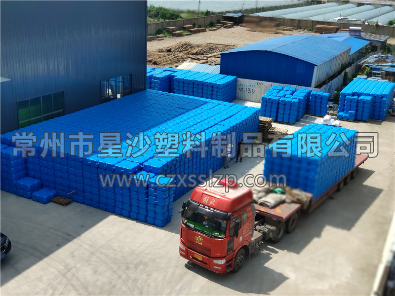 常州市星沙塑料制品有限公司-新疆乌鲁木齐浮筒发货1