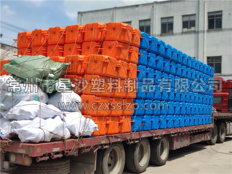常州市星沙塑料制品有限公司-新疆乌鲁木齐浮筒发货2